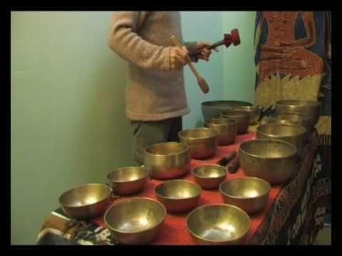 Cuencos tibetanos, en concierto