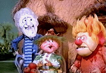 The Year Without a Santa Claus:  Mother Nature with her bickering sons, Heat Miser and Snow Miser. Description from pinterest.com. I searched for this on bing.com/images