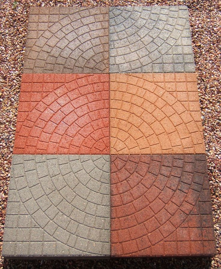 """18"""" Cobblestone Patio Stones Available in the following colors: Gray, Red, Tan, Black, Red/Black, Tan/Brown. Buff/Black.  Click on the image to visit our website. We are located in Dacono, Colorado and can be reached at 303-833-4144."""