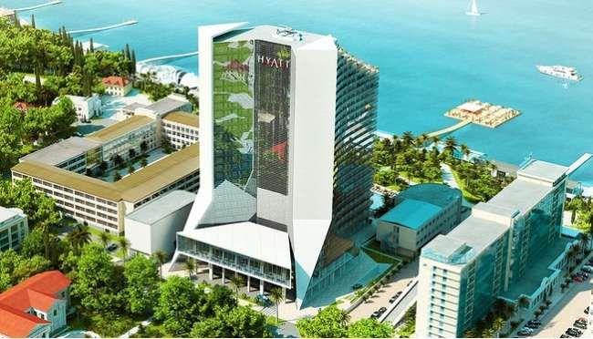 NEW HOTEL HYATT REGENCY SOCHI WILL BE OPENED IN RUSSIA IN 2013