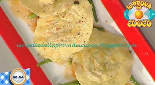 Le ricette della Prova del Cuoco: Ravioli al dentice alla griglia ricetta Paolo Zopp...