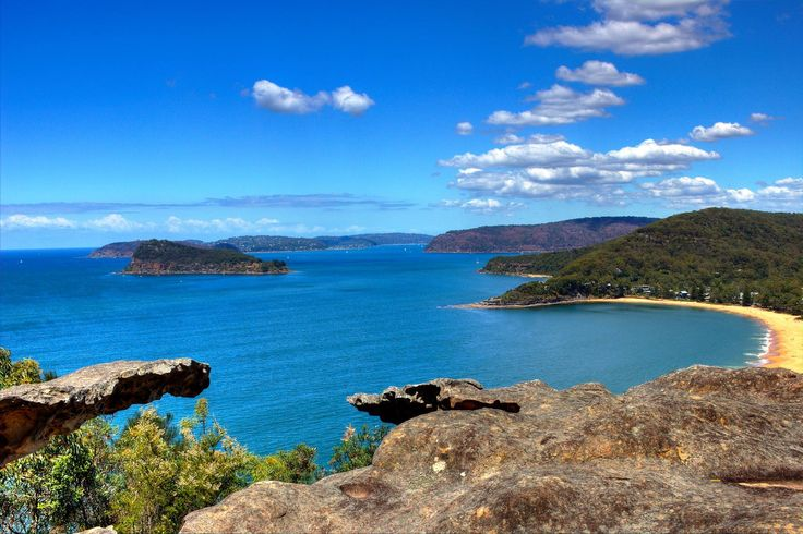 Mt Ettalong lookout, central coast, NSW