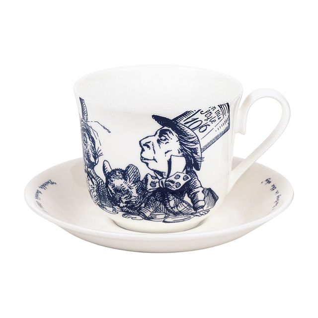 Alice in Wonderland Cup & Saucer | Whittard of Chelsea