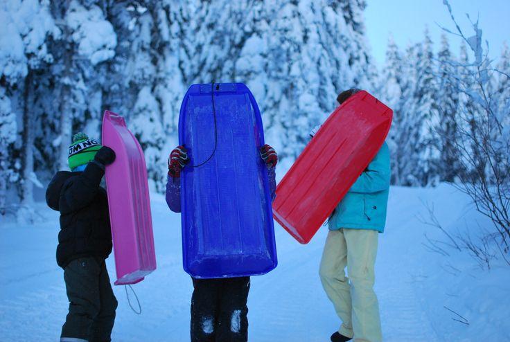 Winter wonderland in Finland, Syöte