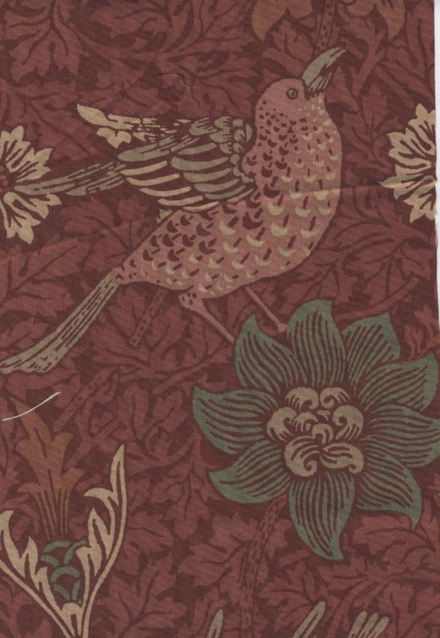 William Morris wallpaper design.