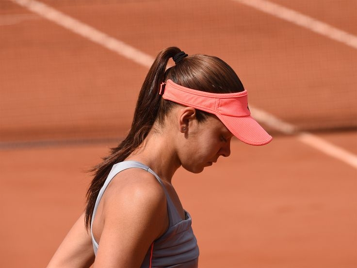 Andreea Mitu may have lost to Belgium's Alison Van Uytvanck, but she can congratulate herself on making it to the fourth round at her first main draw appearance at the French Open.