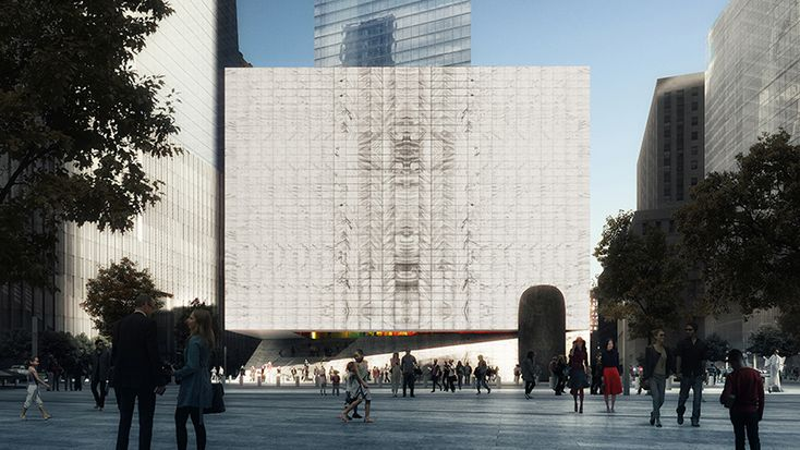 Perelman Performing Arts Center at World Trade Center in New York by REX
