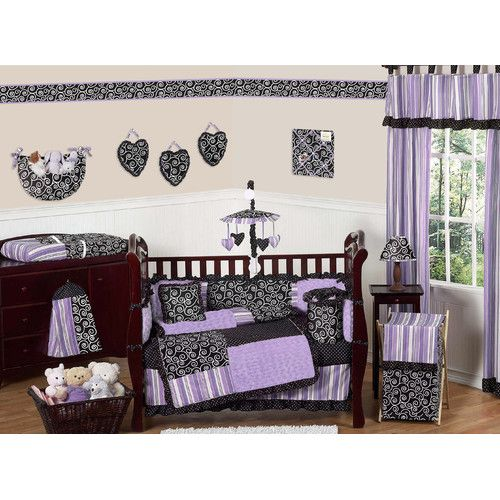 Found it at Wayfair - Kaylee 9 Piece Crib Bedding Set