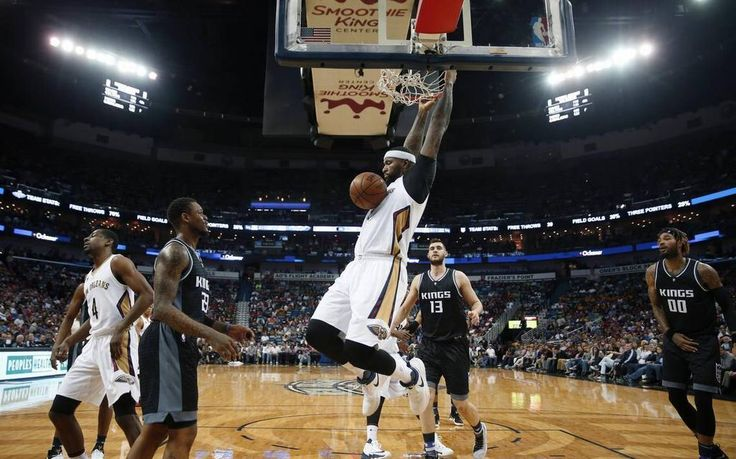 DeMarcus Cousins dominated his former team with 37 points, 13 rebounds, four assists, three steals and two blocks as the Pelicans routed the Kings, 117-89, Friday night at Smoothie King Center in the first game between the teams since the deal that sent him to New Orleans.