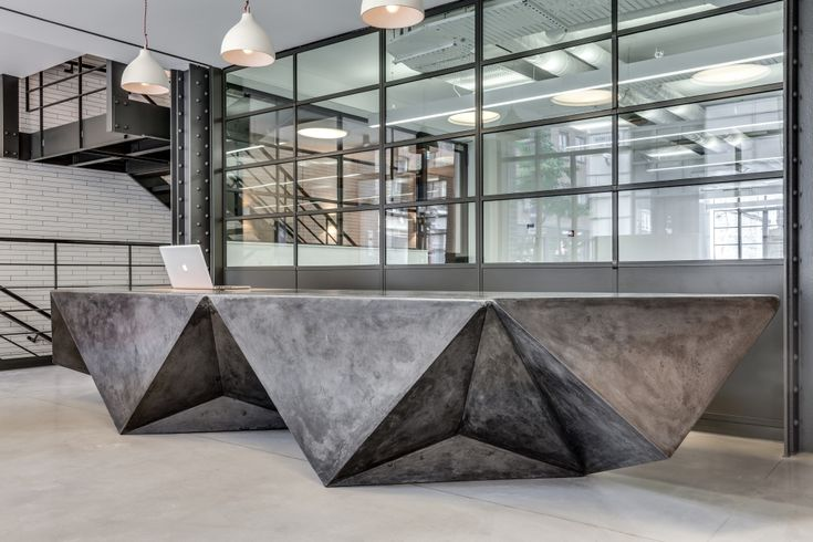 concrete reception