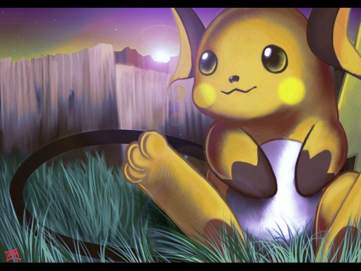 Image Gallery of Raichu And Pikachu Wallpaper
