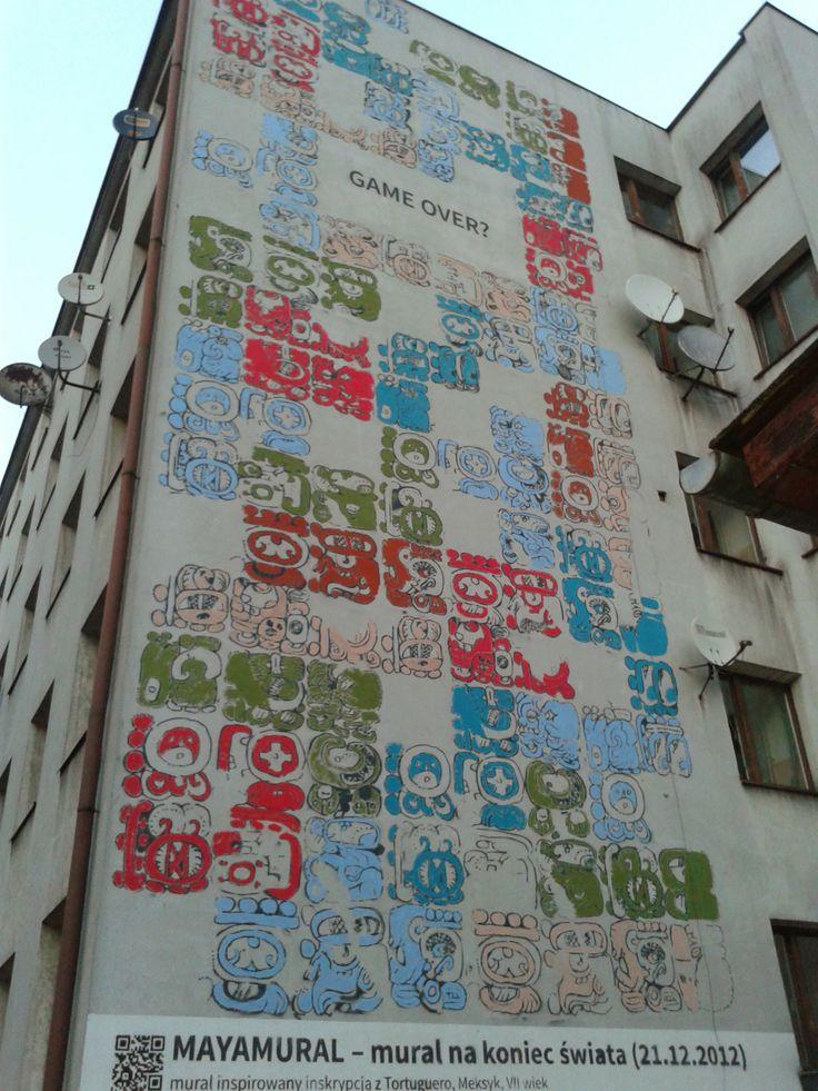 Mayamural #time #mayan #calendar #streetart