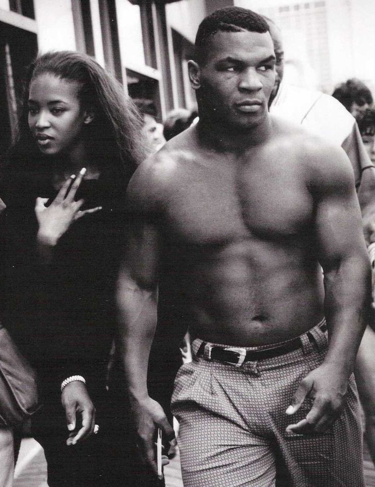 Mike Tyson is a badass dude. #miketyson #boxing #blackandwhite