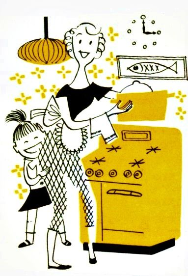 Cooking with Mom!     from 1960s cookbook