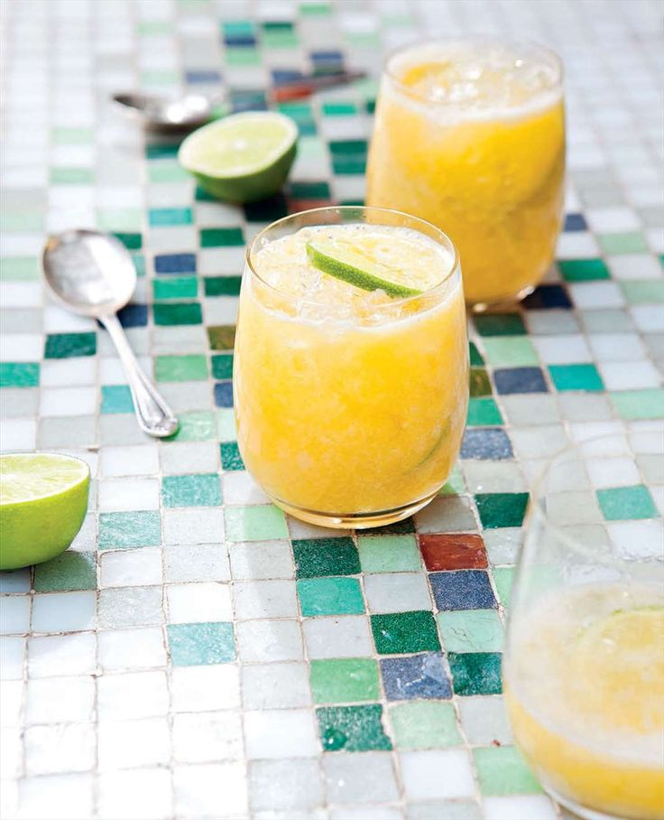 Brazilian blended pineapple and passionfruit cocktail by Rachael Lane from South American Grill | Cooked