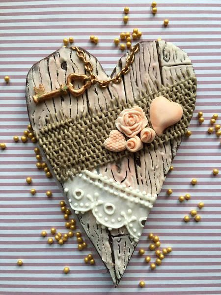 #9 - Shabby Chic Heart