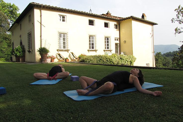 Yoga in Italy | VILLA BENVENUTI