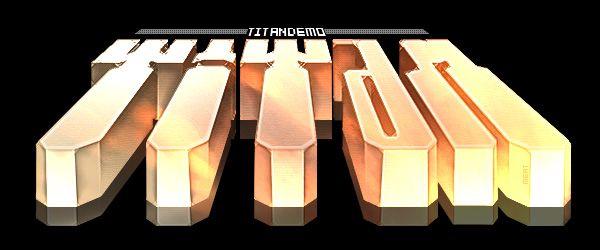 Titan logo by Meat.