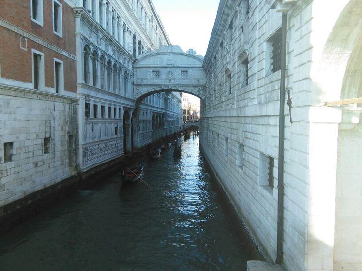 The Bridge of Sighs, Ponte dei Sospiri