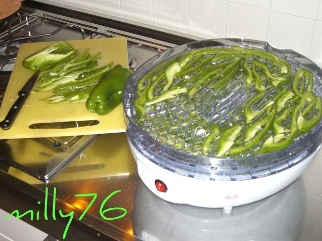 essicatore e peperoni