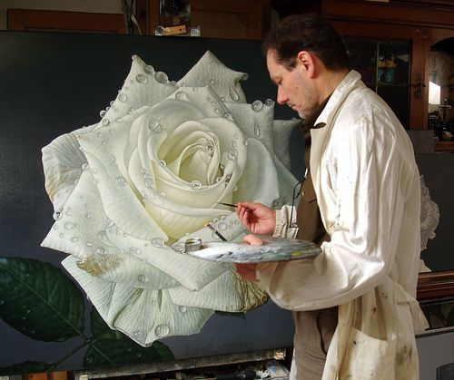 Artists I admire - blog post from Carole Elliott Artist