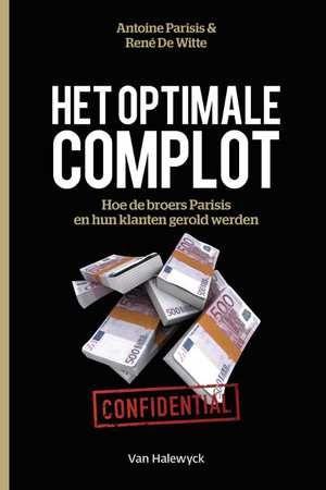 Het optimale complot-Antoine Parisis, René Witte-boek cover voorzijde