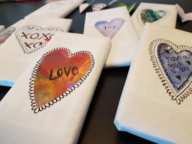 5hugs: Valentins-Geschenk DIY