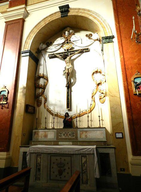 Palermo -Chiesa di Santa Maria della Mercede al Capo- Cappella del Crocifisso