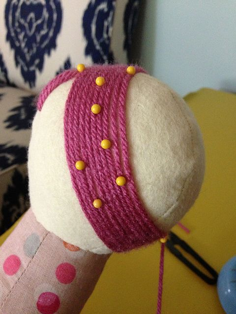 33 Best Images About Crochet Doll Hair On Pinterest