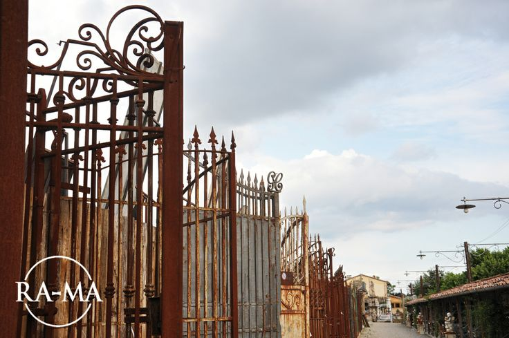 Iron Recovered Gates