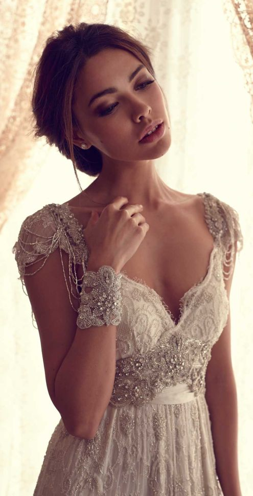 wedding dress wedding dresses #AnnaCampbell