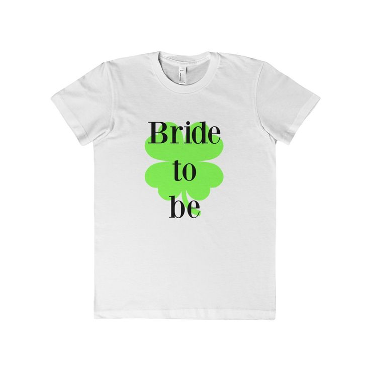Bride to be - green -Women's T-Shirt