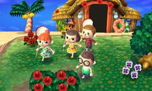 Console Nintendo 2DS - blanc & rouge + Animal Crossing : New Leaf: Amazon.fr: Jeux vidéo