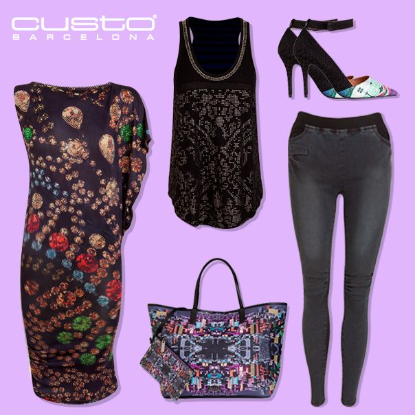 Desde un vestido joya a un top básico, ¡Estos serán tus esenciales para arrasar en la ciudad! Consíguelos> www.custo.com  From a jewel dress to a basic top, these will be your essentials for triumph at the city! Get them> www.custo.com