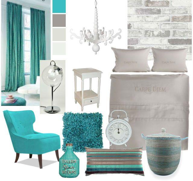 turquoise slaapkamer inspiratie
