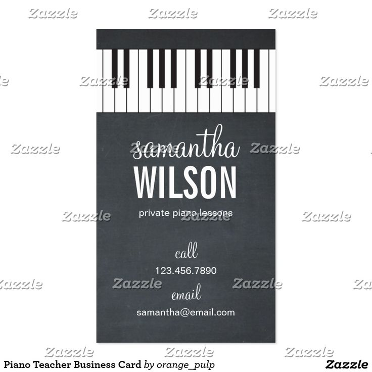48 best Music Business Cards images on Pinterest   Business cards ...