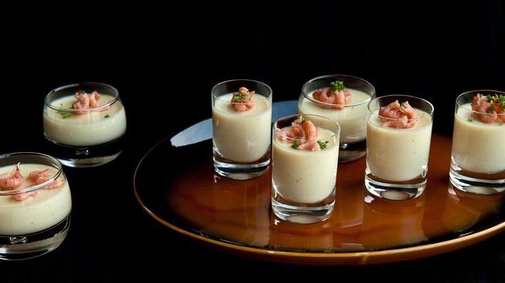 Bloemkoolmousse met garnalen en curry | VTM Koken