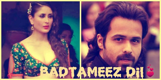Badtameez Dil movie Kareena kapoor Kiss Romance imran hashmi Badtameez Dil Movie Imran Hashmi, Kareena Kapoor