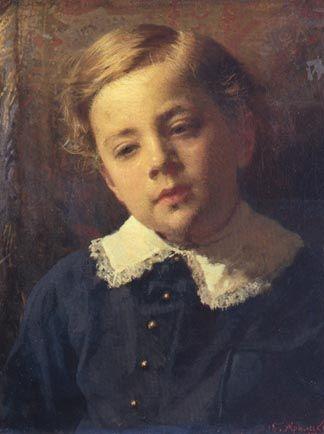 Sergay Kamskoy, το παιδί του. (1883)