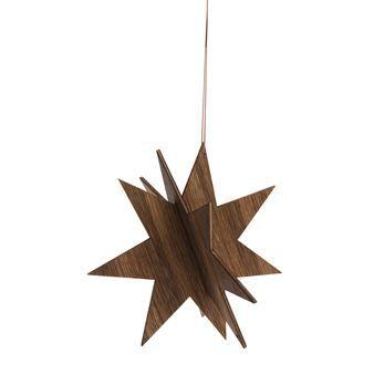 Ferm Living wooden stars oak - large - Ferm Living