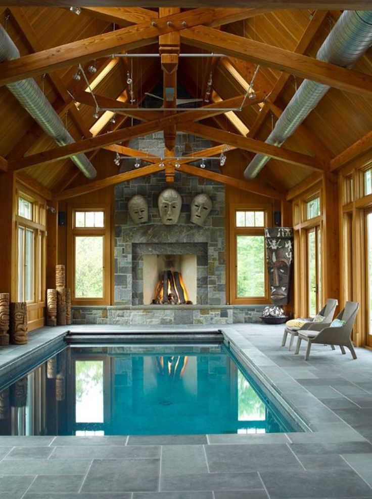 Best 25 small indoor pool ideas on pinterest houses for Indoor swimming pool ideas