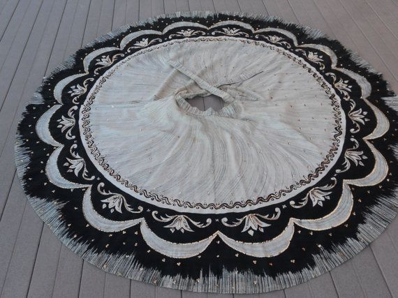 Mexican Vintage Circle Skirt from the by VintageAdornAndMore
