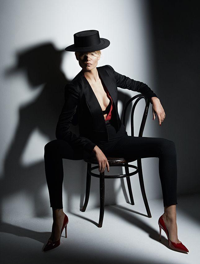 Патрик Демаршелье. Материал «Кармен и тореадор», май 2013, модель — Наташа Поли