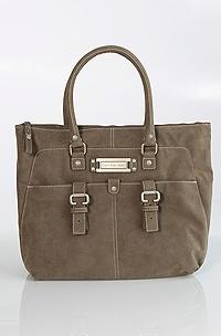 Calvin Klein Sabine E/W Shopping, Brown Shale
