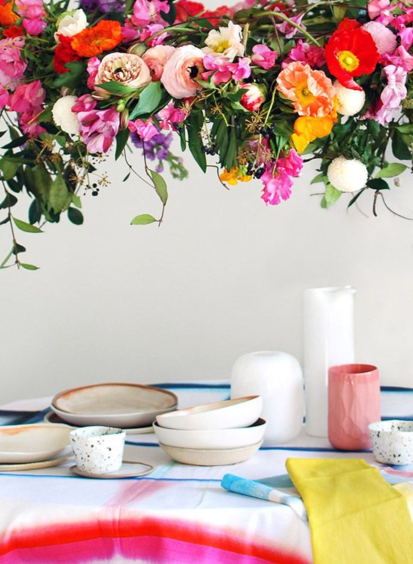If you love the idea of adding a touch of theatre when you're throwing a party - like a special birthday, engagement, or baby shower - but can't afford expensive decorators or florist-created arrangements, it's easier than you think to DIY.