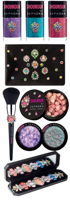Sephora - Shourouk make-up collection