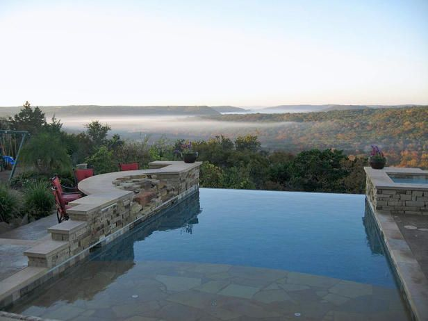 Dream Infinity Pool --> http://www.hgtv.com/decorating/stunning-infinity-edge-swimming-pools/pictures/page-4.html?soc=pinterest