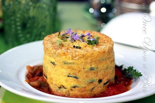 pretty crustless quiche | Irresistible Food Presentation | Pinterest