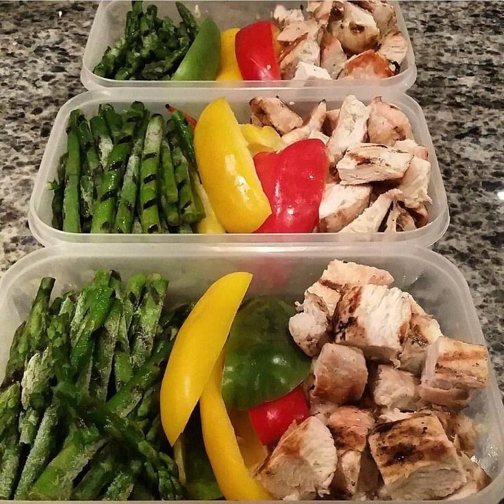 Nothing crazy going on here just a standard lean healthy #mealprep by…