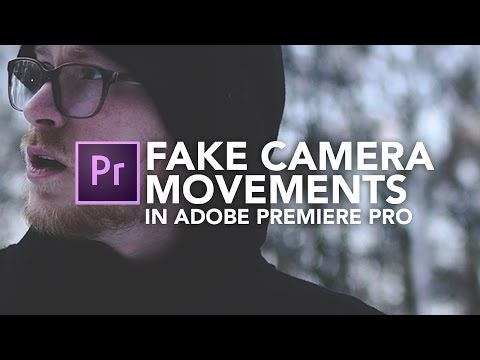 Adding Smooth Camera Movement to Any Static Shot in Premiere Pro CC | 4K Shooters